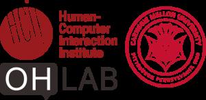 Logo of HCII, CMU, and OHLab